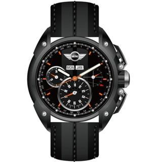 【MINI Swiss Watches】熱血剽悍三眼計時腕錶(45mm/MINI-06)