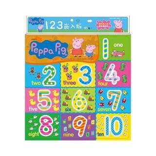 【世一】粉紅豬小妹123嵌入板