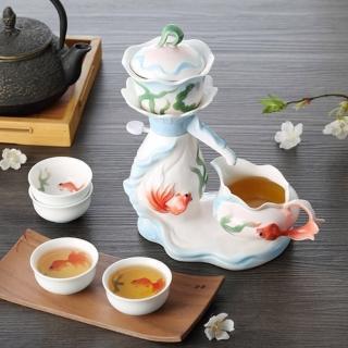 【The simple Life】游魚戲水茶具七件組