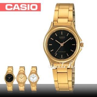 【CASIO 卡西歐】華麗名媛錶款 燦金丁字面 不鏽鋼指針 石英女錶(LTP-1130N)