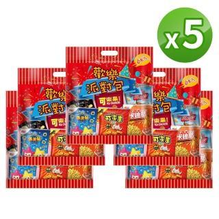 【可樂果x卡迪那x滿天星】休閒綜合量販包(5袋組)