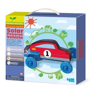 【Waynebook】4M 陽光噗噗車(科學探索-DIY科學玩具)