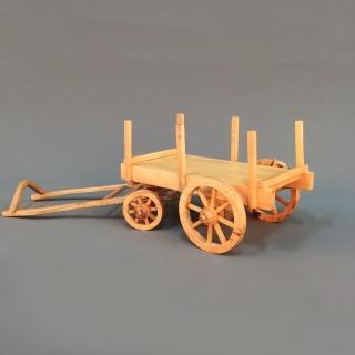 【MU LIFE 荒木雕塑藝品】懷舊農村牛車   MU LIFE 荒木雕塑藝品