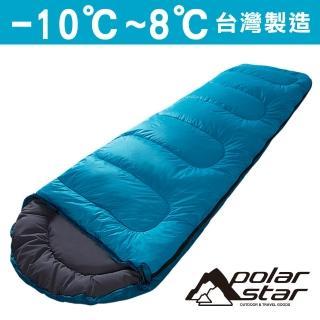 【Polar Star】羊毛睡袋 藍 800g P16732(露營│登山│戶外)