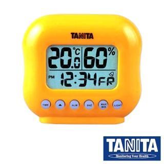 【TANITA】電子式溫溼度計mini型(橘色)