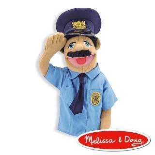 【美國瑪莉莎 Melissa & Doug】手偶(警察)