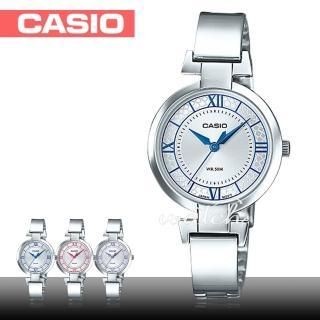 【CASIO 卡西歐】送禮首選 簡單風格 石英不鏽鋼女錶(LTP-E403D)