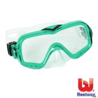 【BESTWAY】炫彩潛水鏡(綠色)
