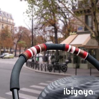 【IBIYAYA依比呀呀】寵物推車把手套(線條紅)