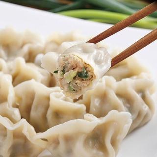 【鮮食家任選799】禎祥 蔥肉水餃(約40粒-800g/包)
