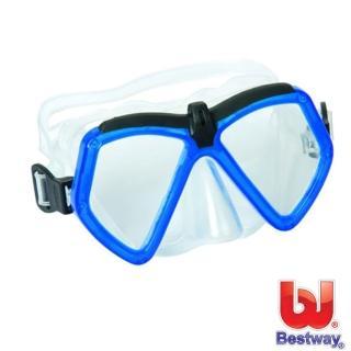 【BESTWAY】繽紛潛水鏡(藍色)