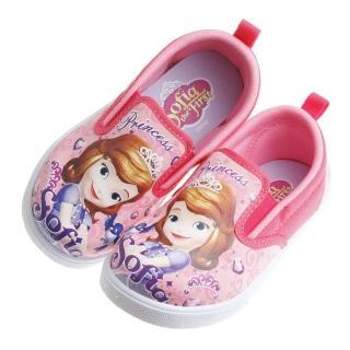 【布布童鞋】Disney迪士尼蘇菲亞小公主粉紅兒童休閒鞋(BDT703G)