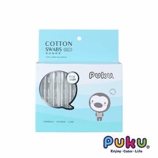 【PUKU藍色企鵝】日本抗菌極細軸棉棒-100pcs