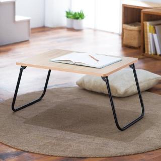 【樂活玩家】木紋輕巧折疊桌(折疊桌/收納桌/休閒桌/筆電桌)