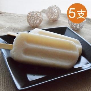 【鮮食家任選799】班鳩冰店 鳳梨釋迦冰棒(85g*5支/袋)