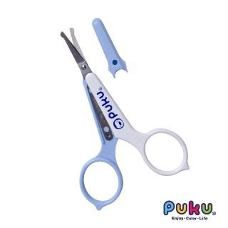 【PUKU藍色企鵝】安全剪刀(水色)
