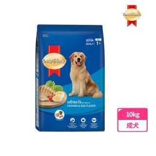 【SMARTHERAT】慧心犬糧 - 雞肉+雞蛋口味成犬配方(10KG)
