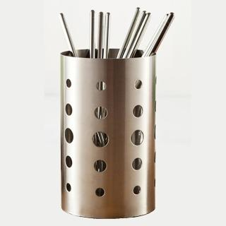 【PUSH! 餐具用品】304不銹鋼加厚加高筷子筒筷子籠筷子收納盒加高款(E54)