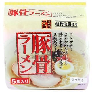 【日本 創意一品】豚骨拉麵90gx5P