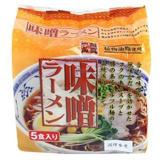 【日本 創意一品】味噌拉麵89gx5P
