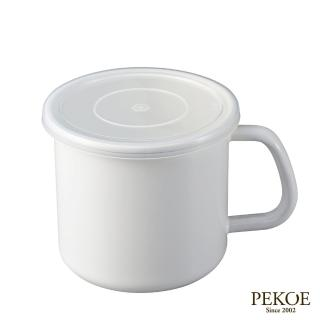 【野田琺瑯】White Series系列杯型保存罐(1L)