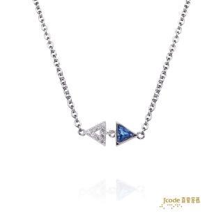 【J'code 真愛密碼】獨立銀項鍊(2016夏季新品)