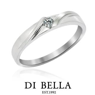 【DI BELLA】Everything 真鑽情人戒指(女款)