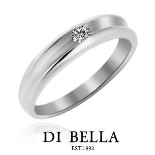【DI BELLA】Faith 真鑽情人戒指(女款)
