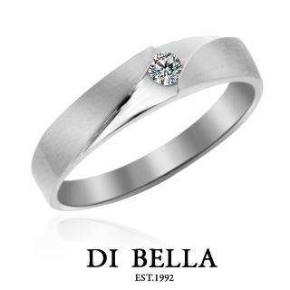 【DI BELLA】Sunshine 真鑽情人戒指(男款)