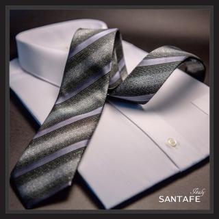 【SANTAFE】韓國進口中窄版7公分流行領帶 KT-980-1601005(韓國製)