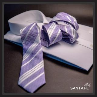 【SANTAFE】韓國進口中窄版7公分流行領帶 KT-980-1601010(韓國製)