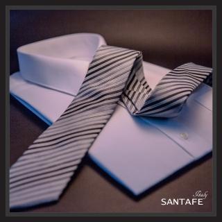 【SANTAFE】韓國進口中窄版7公分流行領帶 KT-980-1601011(韓國製)