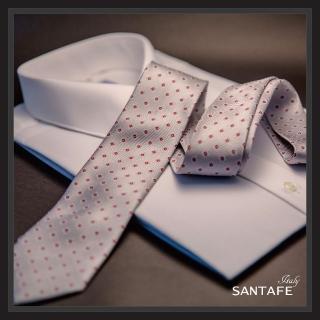 【SANTAFE】韓國進口中窄版7公分流行領帶 KT-128-1601003(韓國製)
