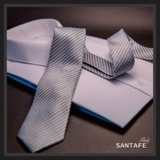 【SANTAFE】韓國進口中窄版7公分流行領帶KT-188-1601008(韓國製)