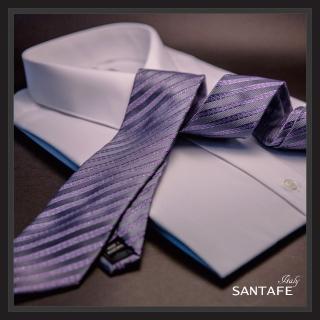 【SANTAFE】韓國進口中窄版7公分流行領帶KT-188-1601010(韓國製)