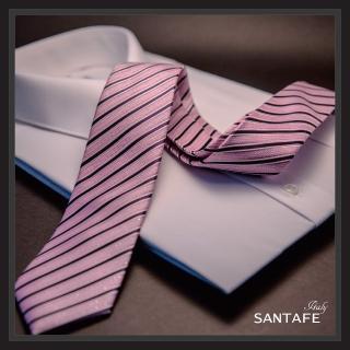 【SANTAFE】韓國進口中窄版7公分流行領帶KT-188-1601015(韓國製)