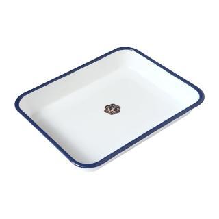 【日本月兔印】琺瑯調理方盤(25cm)