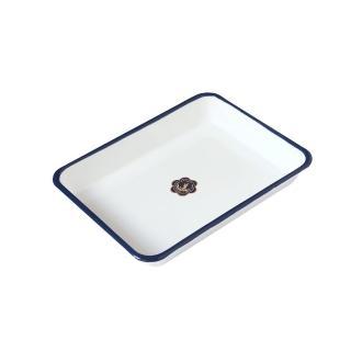 【日本月兔印】琺瑯調理方盤(21cm)