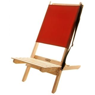 【Blue Ridge Chair Works】長版戶外折疊椅(紅)