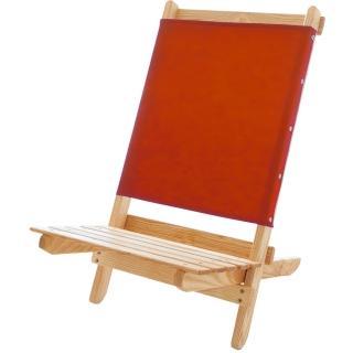 【Blue Ridge Chair Works】短版戶外折疊椅(紅)