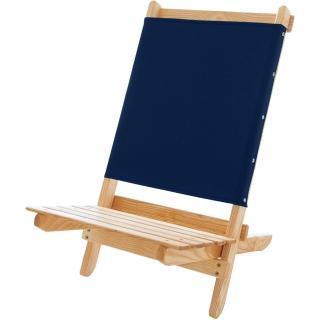 【Blue Ridge Chair Works】短版戶外折疊椅(海軍藍)