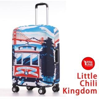 【LittleChili】行李箱套套526(加州S)