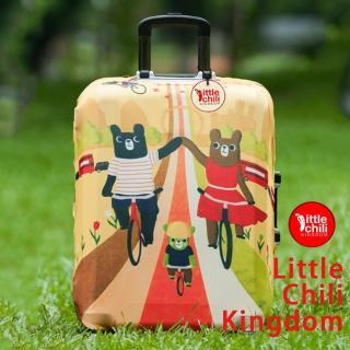 【LittleChili】行李箱套套503(小熊家族L)