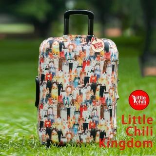 【LittleChili】行李箱套套508(貓咪S)