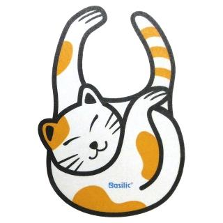 【Basilic 貝喜力克】貓咪造型圍兜
