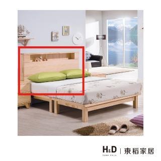 【H&D】羅本北歐全實木6尺床頭片