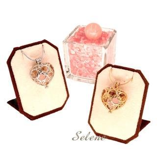 【Selene珠寶】甜心佳人粉晶項鍊套組(加強人緣桃花)