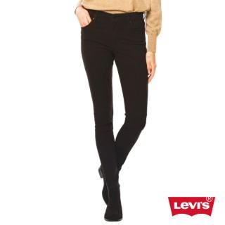【Levis】721 緊身窄管丹寧牛仔褲-亞洲版-低調黑
