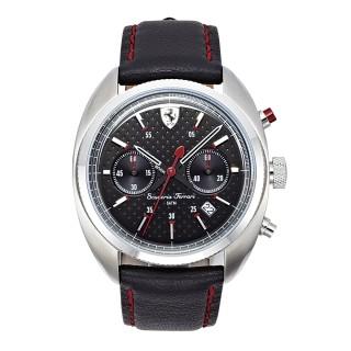 【FERRARI】Formula Sportiva計時黑面時尚腕錶(0830239)