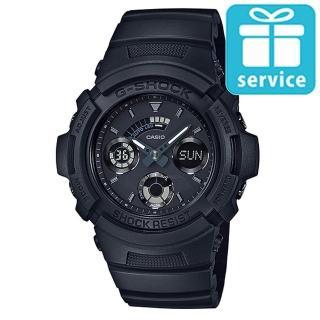 【CASIO】G-SHOCK 運動賽車三眼指針錶(AW-591BB-1A)